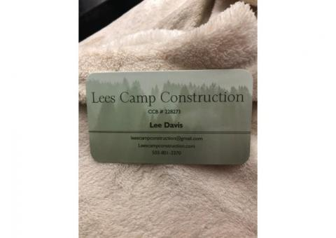 Lee's Camp Construction