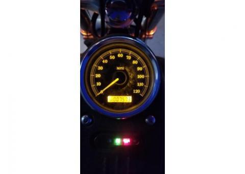 2006 Black Harley Davidson Motorcycle ~ Street Bob